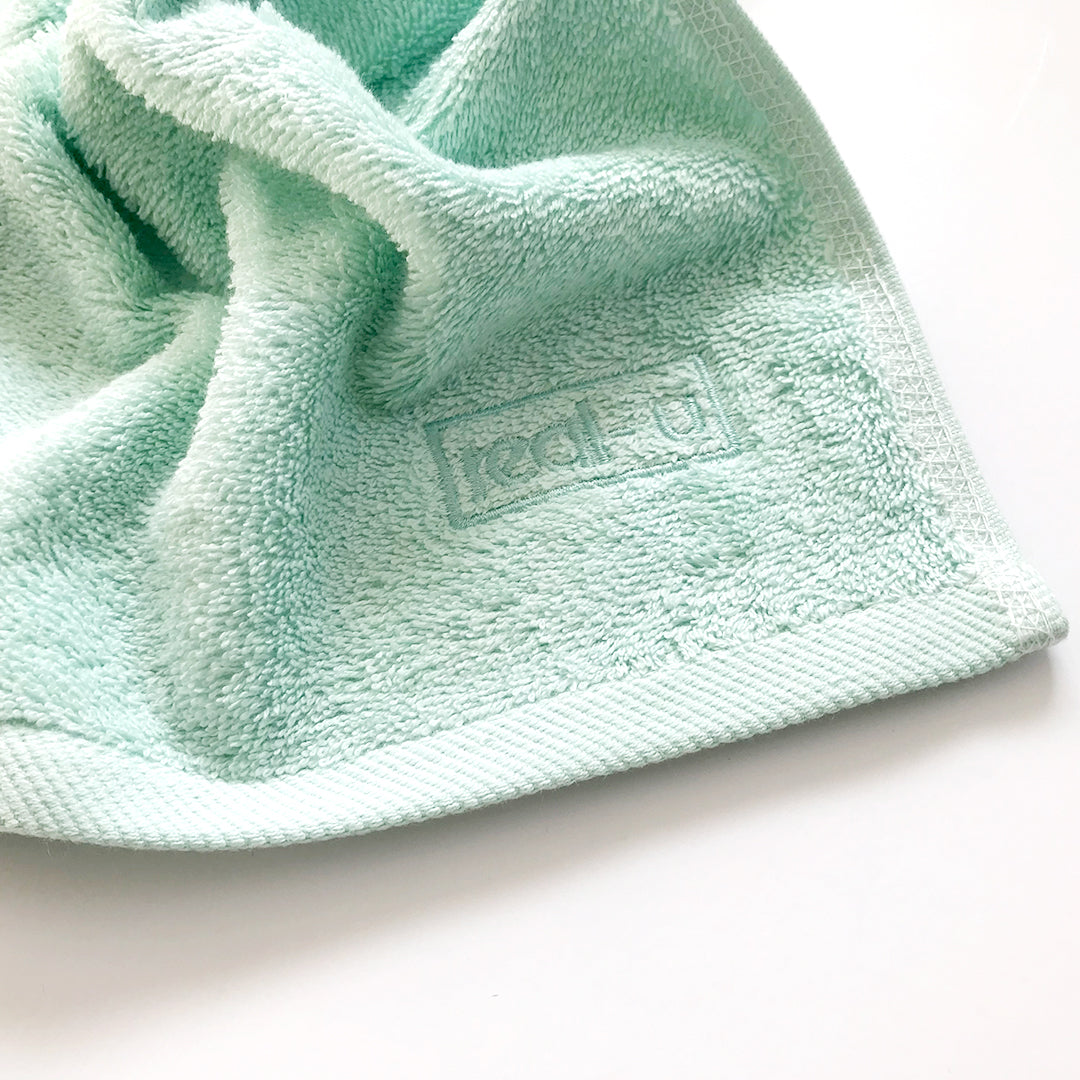 real-u's face cloth give you just the right amount of exfoliation for your skin