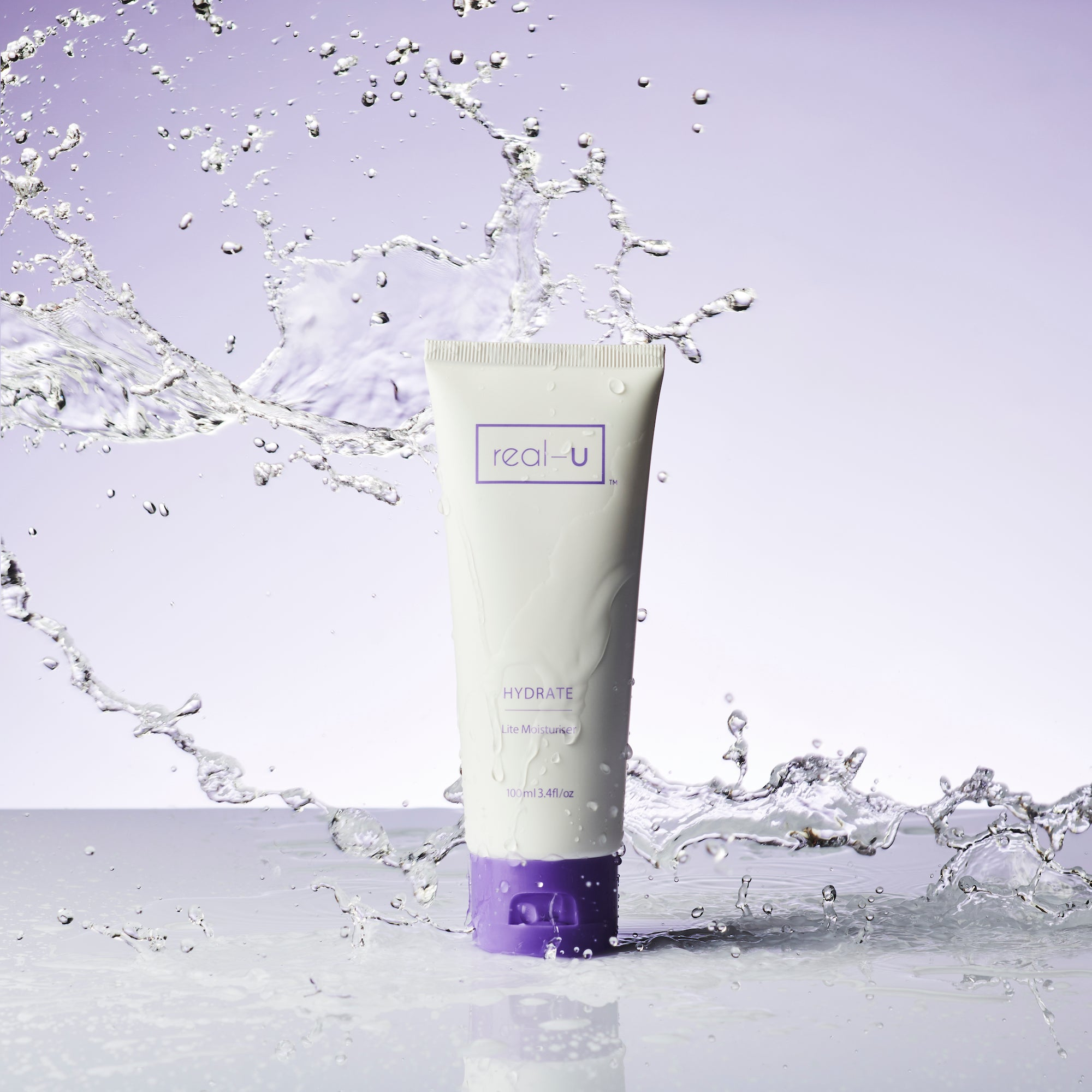 real-u HYDRATE Lite Moisturiser Step 3 of our 3-Step acne skincare program