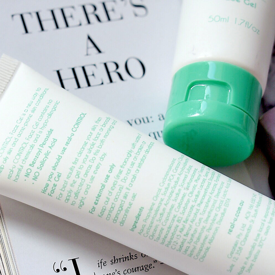 real-u CONTROL Acne Serums are our hero products when it comes to clearing acne