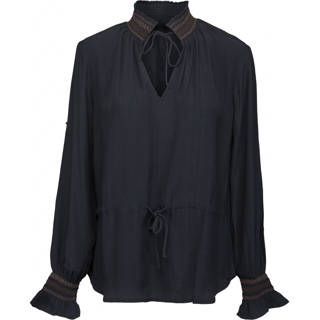 Peppercorn Piper Blouse Blouses 2101 EBONY GREY