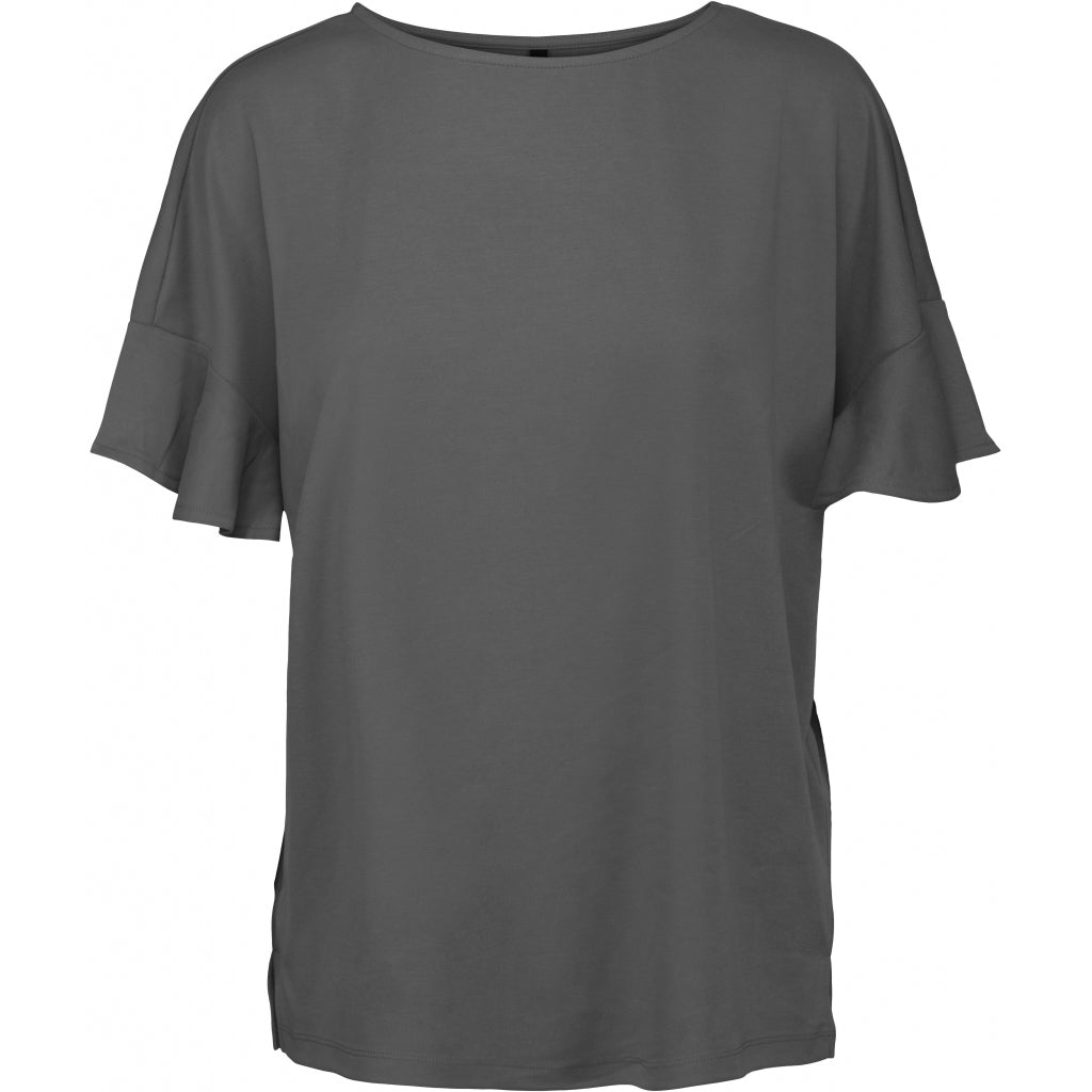 Peppercorn Reeta Blouse T-shirts 2101 EBONY GREY