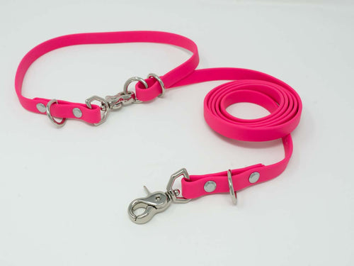 Waterproof Convertible Lead - Cerise