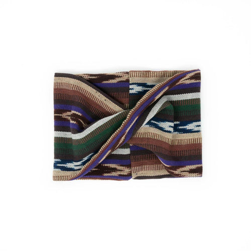Twisted scarf - Coyolate