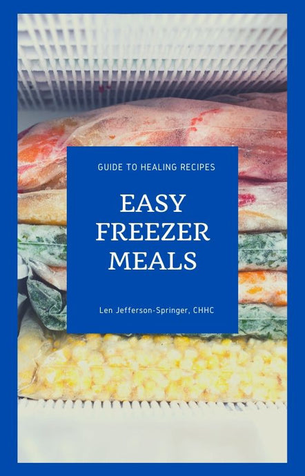 Easy Freezer Meals - EBOOK