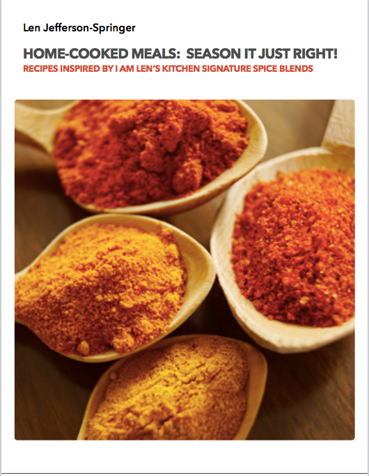 Home-Cooked Meals: Seasoned Just Right! - FREE EBOOK