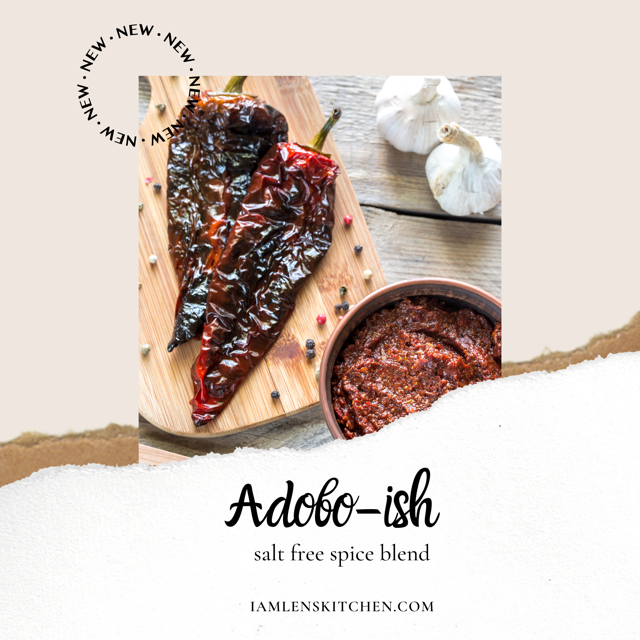 Mx. Adobo-ish Salt free Spice Blend LIMITED EDITION