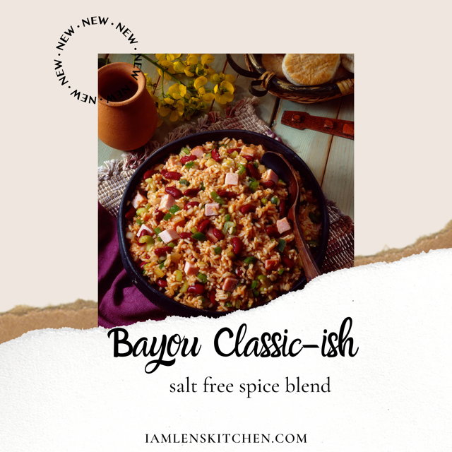 Bayou Classic-ish Salt free Spice Blend LIMITED EDITION
