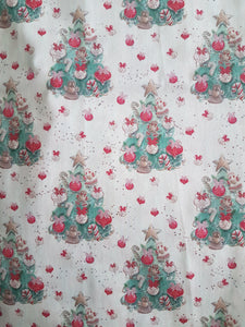 Scrunchy - white Christmas Treat Trees