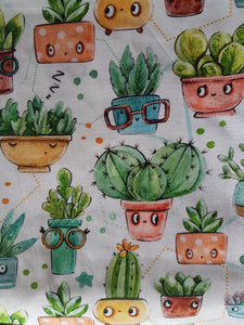 Booksleeve - Friendly Succulents