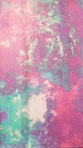 Booksleeve - Pink and Blue Glitter