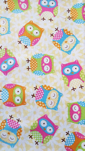 Booksleeve - Baby Rainbow Owls