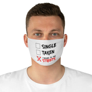 Street Status Fabric Face Mask