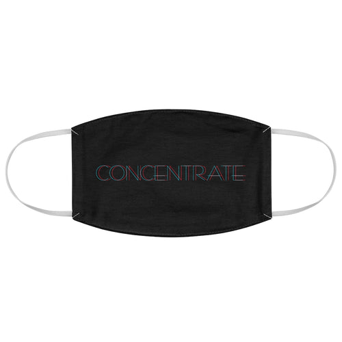 Concentrate Fabric Face Mask