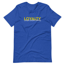 Load image into Gallery viewer, Loyalty Over Everything (Gold) Custom Graphic T-Shirt