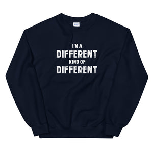 A different kind of different sweatshirt