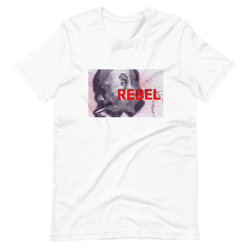Rebel DC Custom Graphic T-Shirt