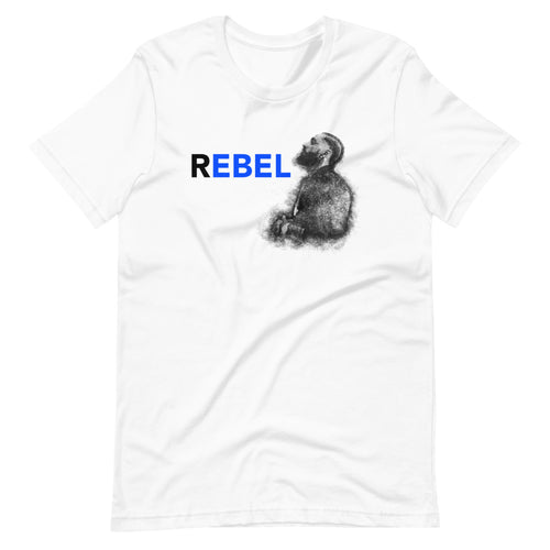Nipsey Rebel 2 Custom Graphic T-Shirt