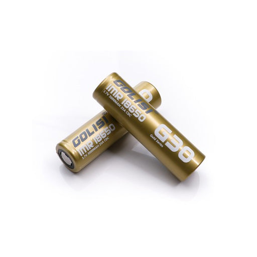 GOLISI IMR 18650 25A 3000mAh Battery with Flat Top