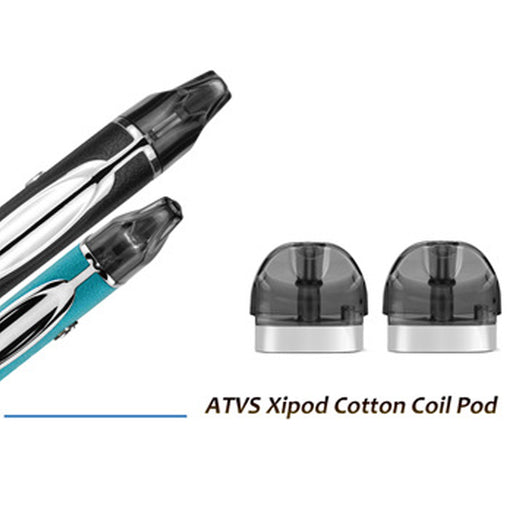 ATVS Xipod cotton coil pod (2pcs/pack)