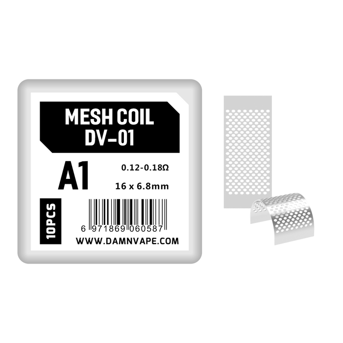 Damn Vape Doom X Replacement Mesh Coils (10pcs/pack)