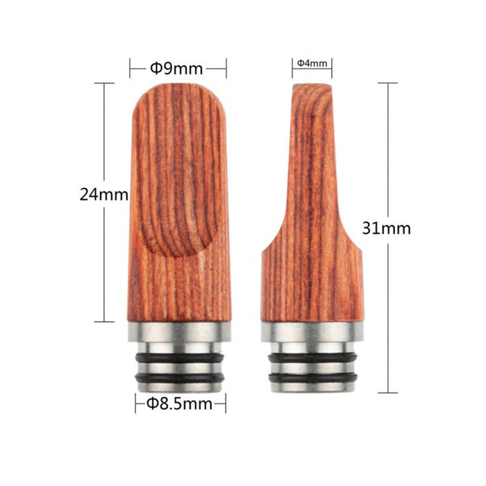REEWAPE AS277M Wooden 510 Drip Tip