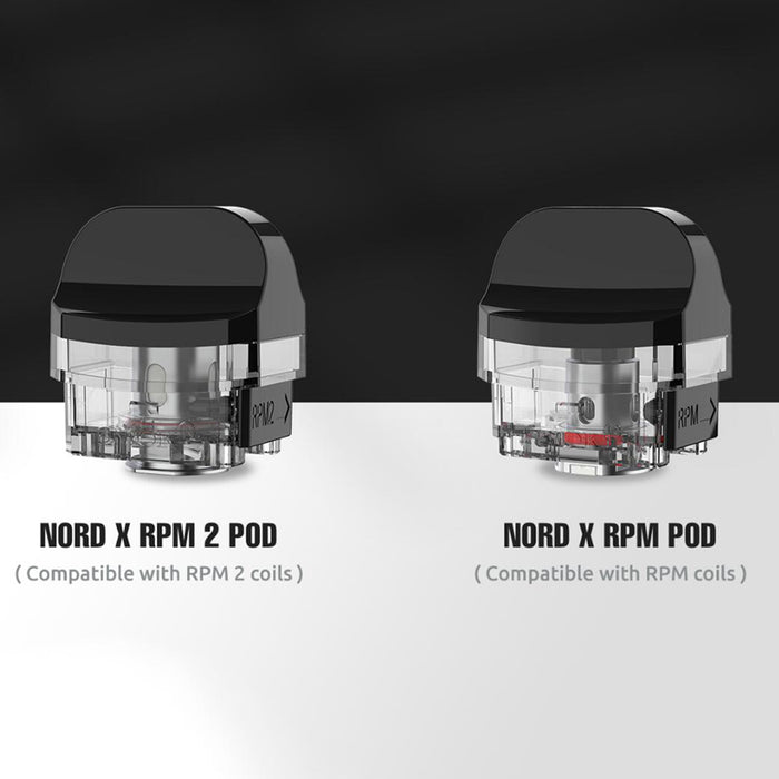 SMOK Nord X Replacement Empty Pods (3pcs/pack)