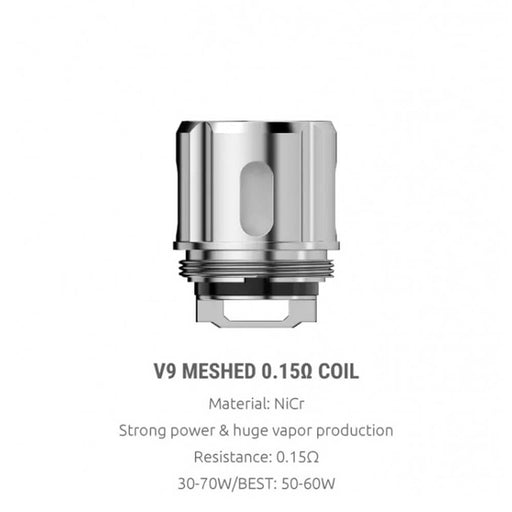 SMOK TFV9 Replacement Mesh Coils 0.15Ω 5pcs/pack