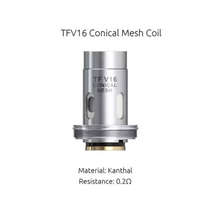 Smok TFV16 Conical Mesh 0.2Ω Coil 3pcs/pack