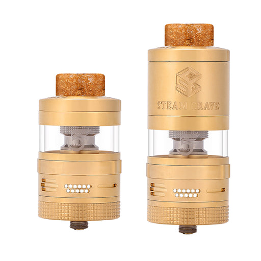 (Pre-order) Steam Crave Aromamizer Plus V2 RDTA Advanced Kit- Gold(Limited Edition)