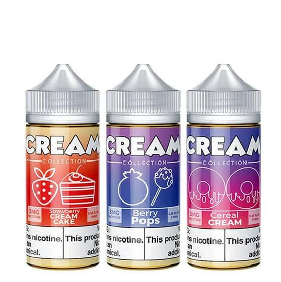 [US Warehouse] Cream Collection 100ml E-Juice