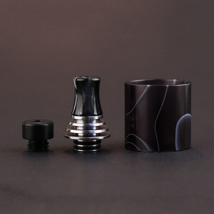 Vapefly Brunhilde MTL RTA Resin Tube and 510 Drip Tip