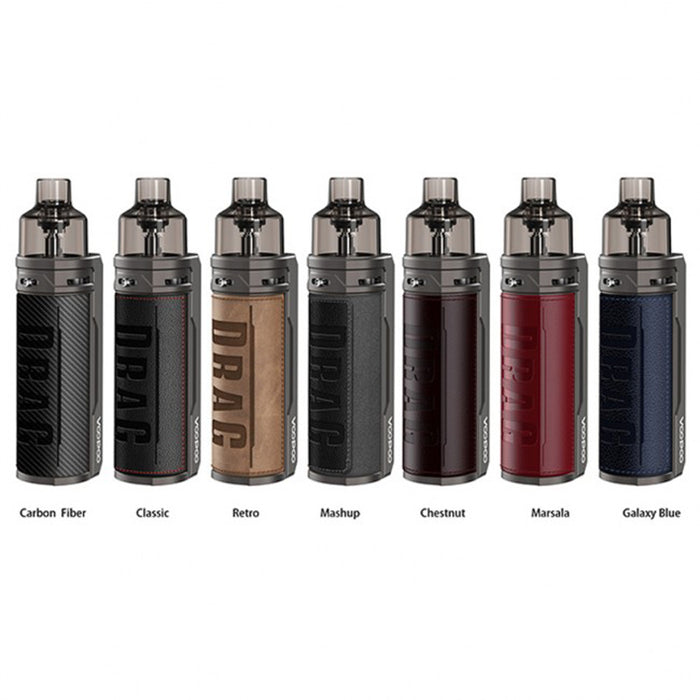(Combination) Voopoo Drag X Pod Kit 80W + Voopoo Drag X Replacement PNP Tank