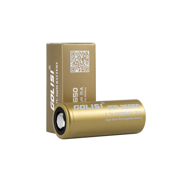 1PCS Golisi IMR 26650 3.7V 4300MAH 50A battery