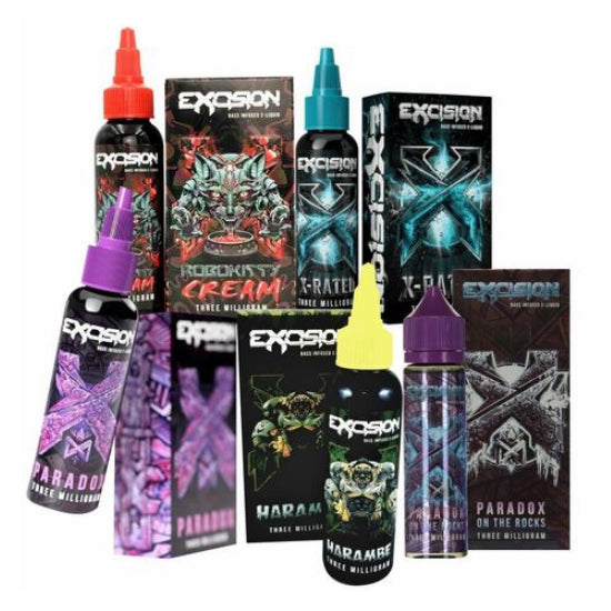 [US Warehouse] AltZero and Excision E Liquid Collection 60ml