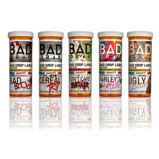 [US Warehouse] Bad Drip E Liquid Collection 60ML