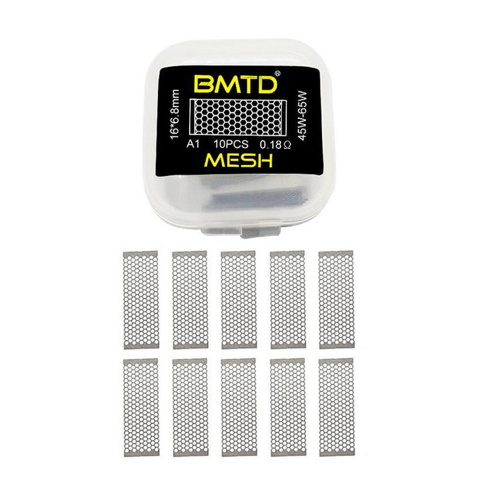 BMTD Rebuildable Mesh Sheets 10pcs/pack