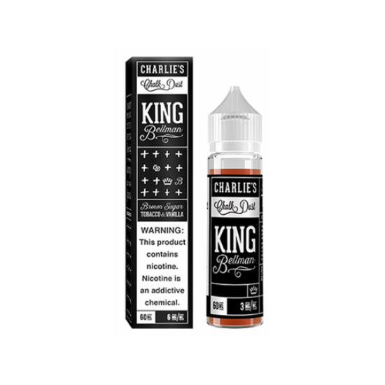 [US Warehouse] Charlie's Chalk Dust Tobacco E Liquid Collection 60ML