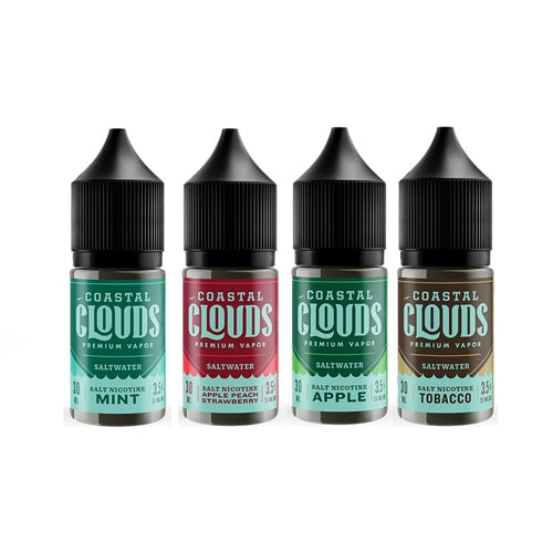 [US Warehouse] Coastal Clouds Saltwater Collection 30ml Nic Salt Vape Juice