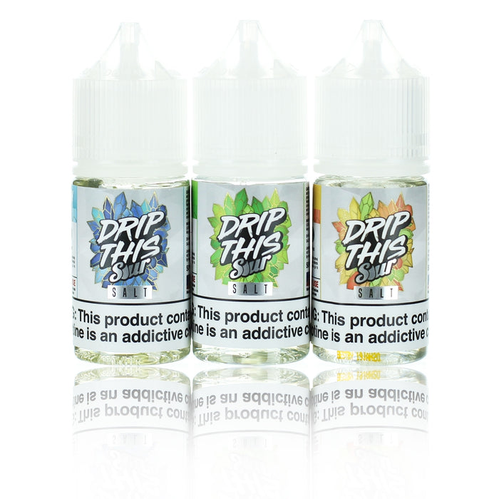 [US Warehouse] Drip This Sour Salts Collection 30ml Nic Salt Vape Juice
