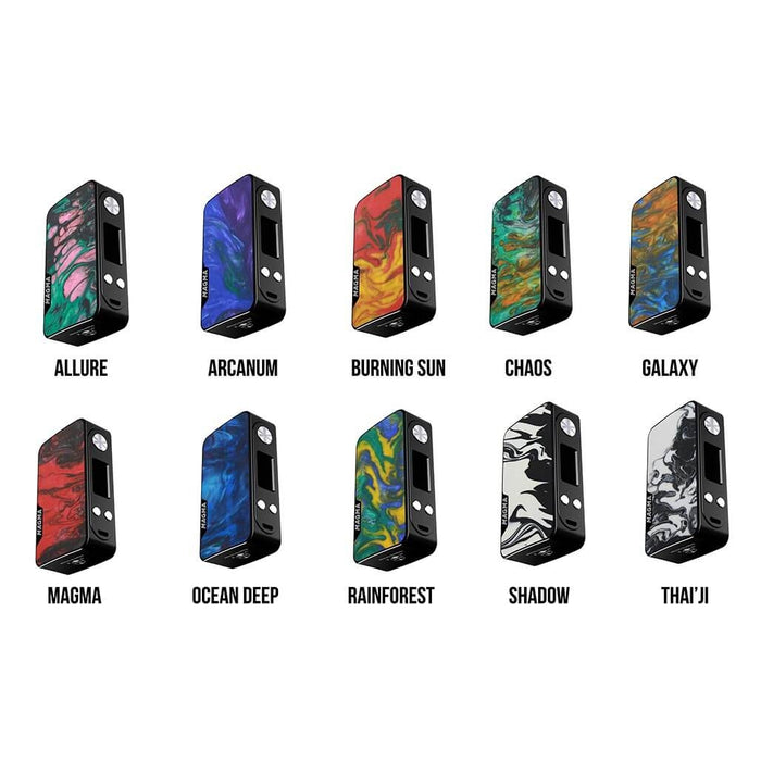 [US Warehouse] Famovape Magma 200W Mod (Black Frame)