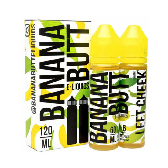 [US Warehouse] Fryd Banana Butt 120ml Eliquid Collection