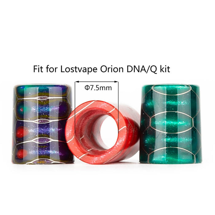 Reewape AS211S Resin Drip Tip Lostvape Orion DNA/Q Kit-Random Color
