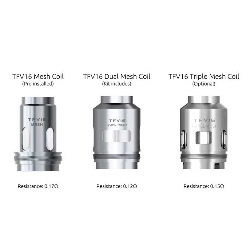 SMOK TFV16 Replacement Mesh Coils (3pcs/pack)