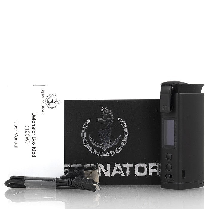 [US Warehouse] Squid Industries Detonator 120W BOX Mod