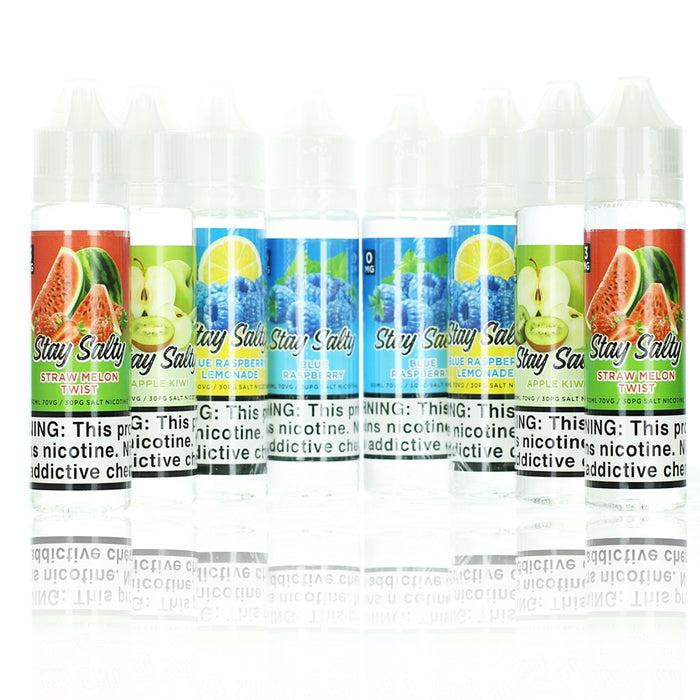 [US Warehouse] Stay Salty Collection 120ml Vape Juice