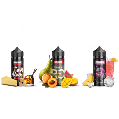 [US Warehouse] Stunna Collection 100ml Vape Juice