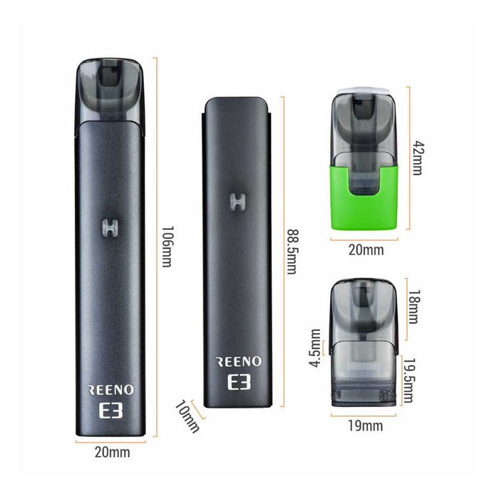 VAPJOY Reeno E3 Pod cartridge 3pcs/pack