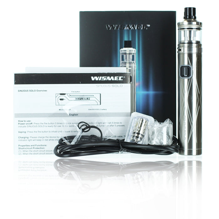 [US Warehouse] Wismec SINUOUS SOLO 40W Kit