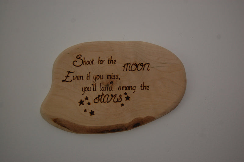 Shoot for the Moon Wall Art