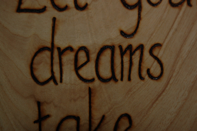 Let your Dreams Wall Art